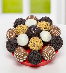 Çikolata Deryası Kek ve Tartolet Buketi