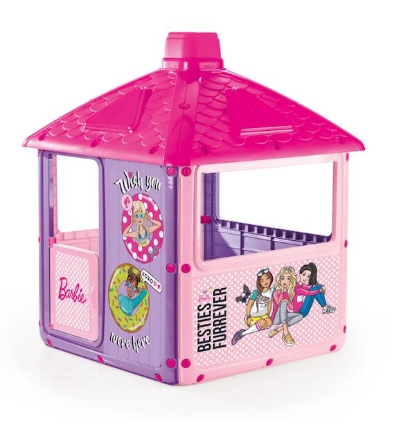 dolu 1610 Barbie Şehir Evi Kız Çocuk Oyuncak Oyun Evi İç Dış Mekan Uyumlu