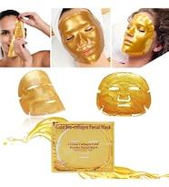 Xolo Altın Yüz Maskesi Gold Bio Collagen Maske Kolajen Yüz Maskesi Gold Tam Yüz Maskesi