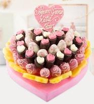 Nice Pinky Doğum Günü Pastası
