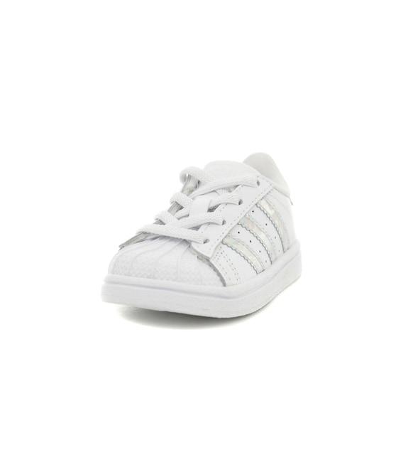 Adidas Superstar El I Bebek Spor Ayakkabi Beyaz Cg6707 B