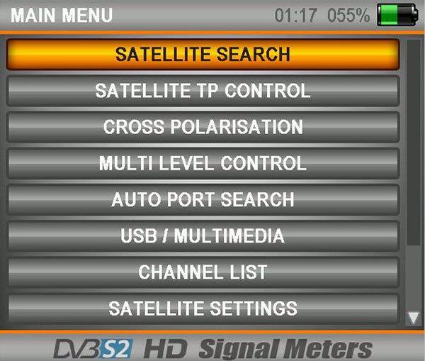 Satfinder 4 AS04-HDU Hd Ultra 3.5'' Lcd Ekranlı Uydu Yön Bulucu
