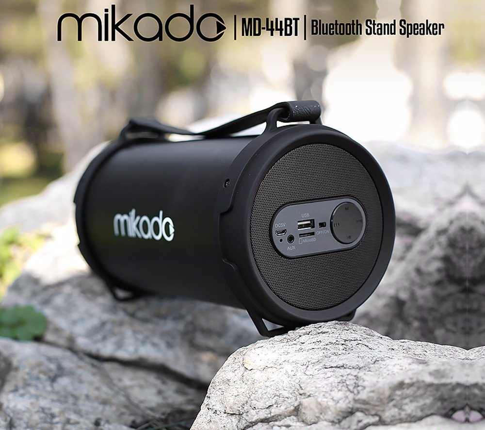 >Mikado MD-44BT FM Destekli Dış Mekan USB-SD-Bluetooth Müzik Kutusu