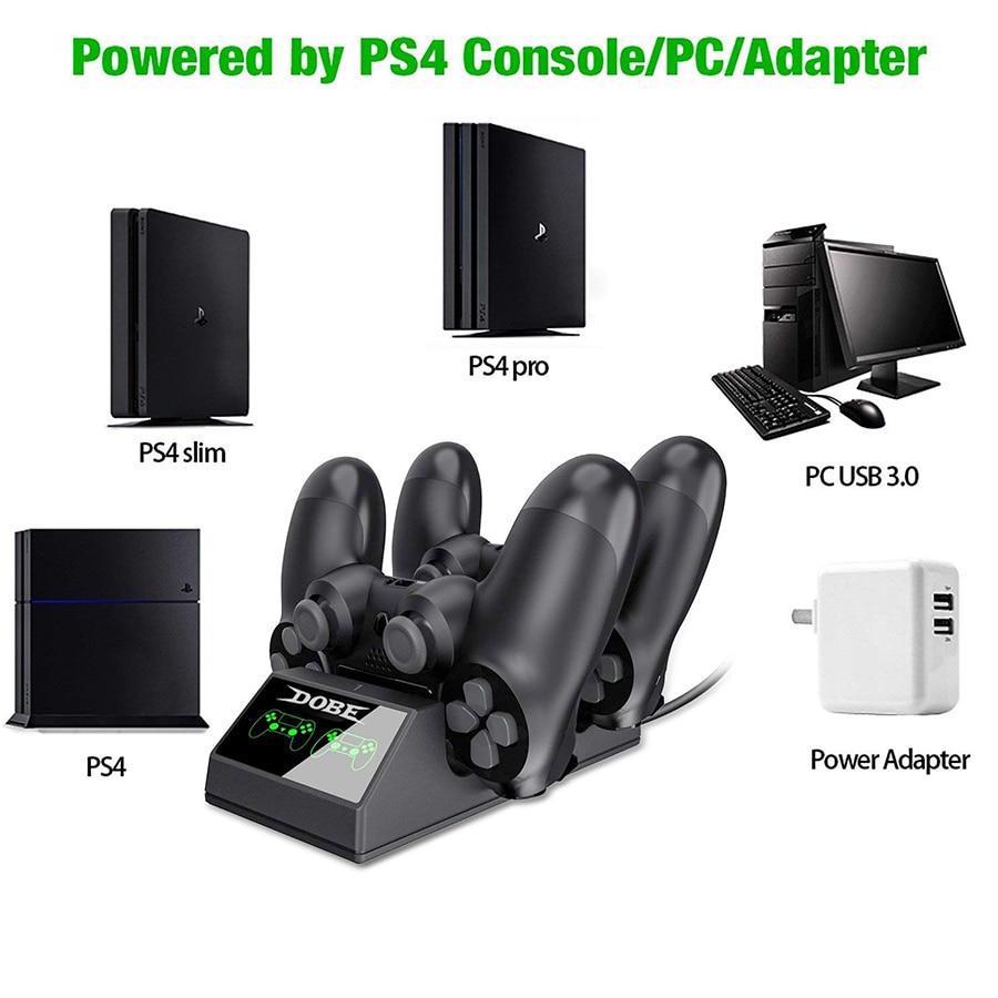 Ps4 Denetleyici Şarj Ps4 Usb Şarj Yuvası Istasyonu Şarj Istasyonu Sony Playstation 4/Ps4 Pro Denetleyici