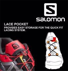 Salomon Lace Pocket Teknolojisi