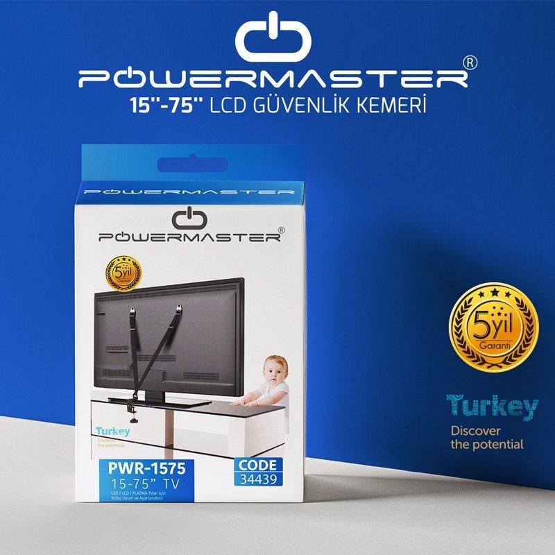 Powermaster Tv Güvenlik Kemeri