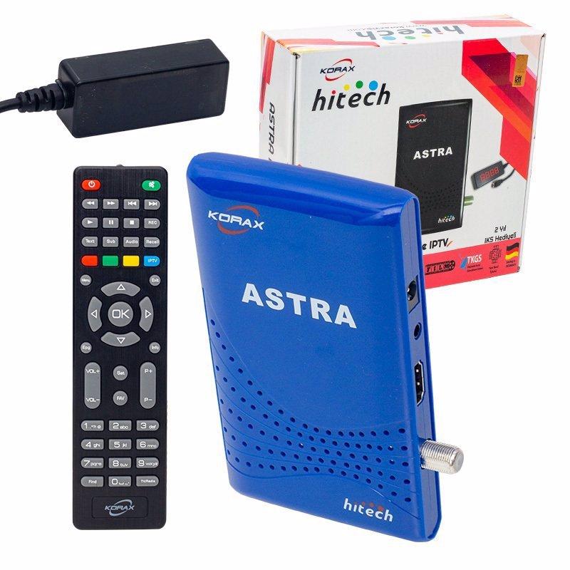 Korax Hitech Astra TKGS'li Full HD IP TV Uydu Alıcısı