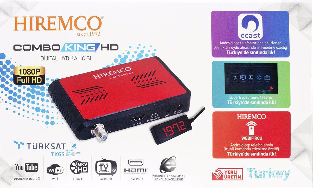 Hiremco Combo King Full HD Mini Uydu Alıcısı