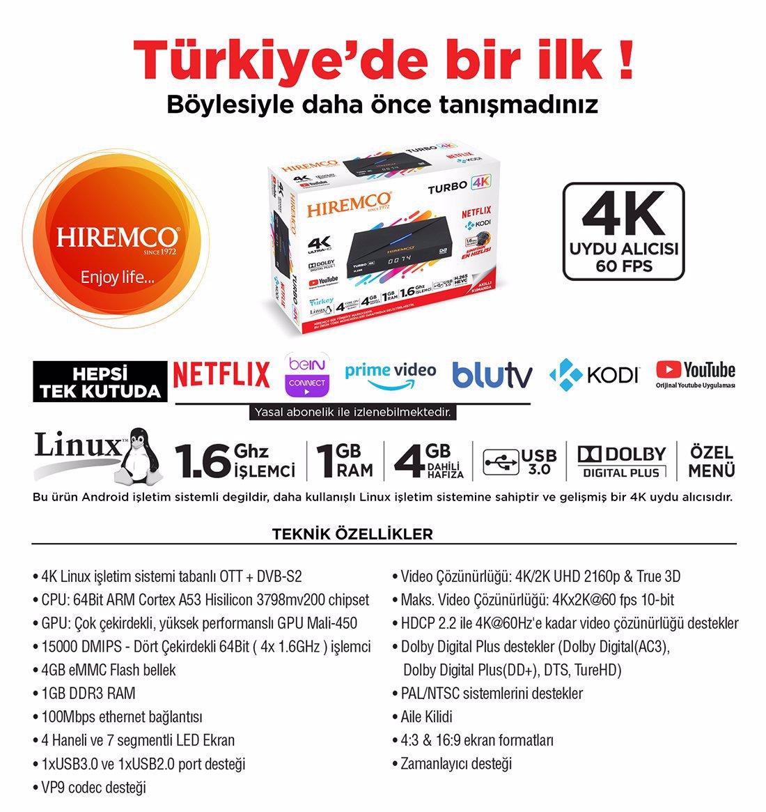 Hiremco Turbo TV Android Box