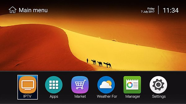 Spybox S11 4K UHD Android HD Uydu Alıcısı