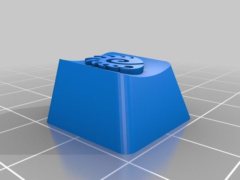 Zerg Sembolü ESC Tuşu Keycap Organik Plastikten Biblo Dekoratif
