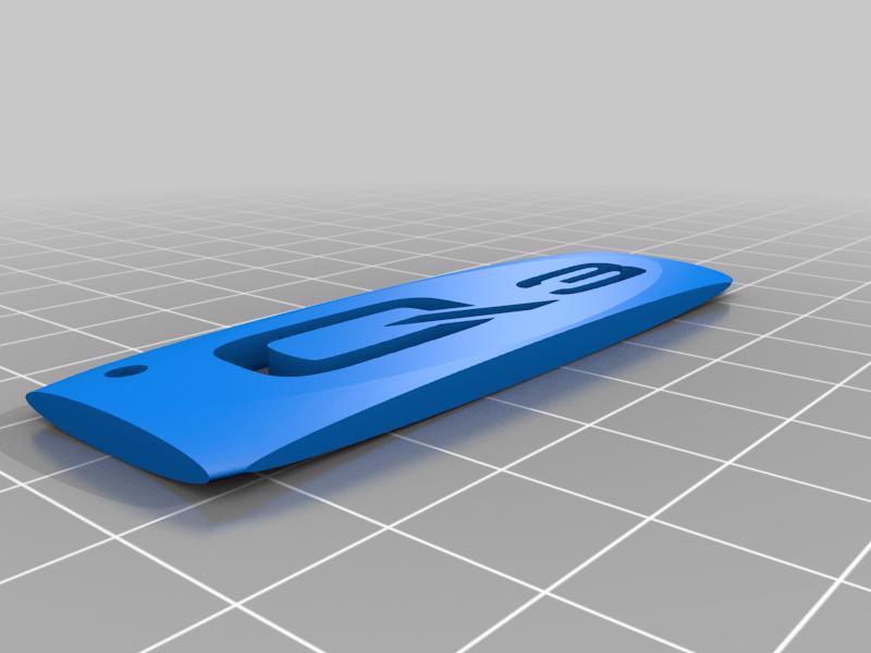 Audi Q3 Organik Plastikten Dekoratif Süs Biblo Anahtarlık