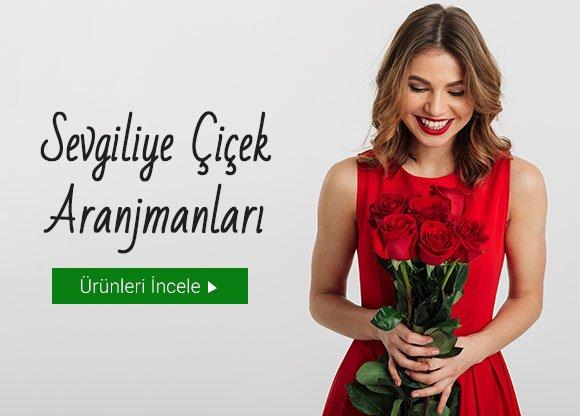 Sevgiliye Çiçek Aranjmanları