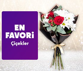 Kadınlar Günü Favori Çiçekler