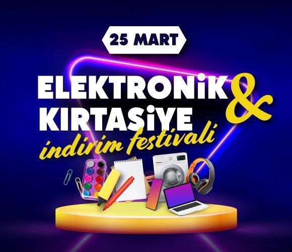 Elektronik Kırtasiye İndirim Festivali