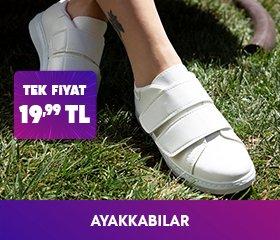 Ayakkabılarda Tek Fiyat 19,99 TL