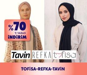 Tofisa-Refka-Tavin %70' e Varan İndirim